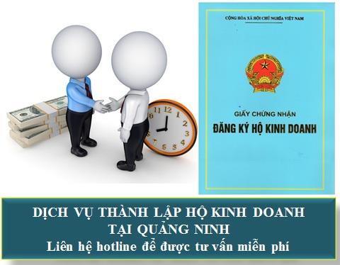 Dịch vụ thành lập hộ kinh doanh tại Quảng Ninh