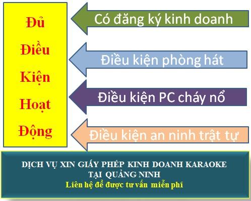 Dịch vụ xin giấy phép kinh doanh karaoke tại Quảng Ninh