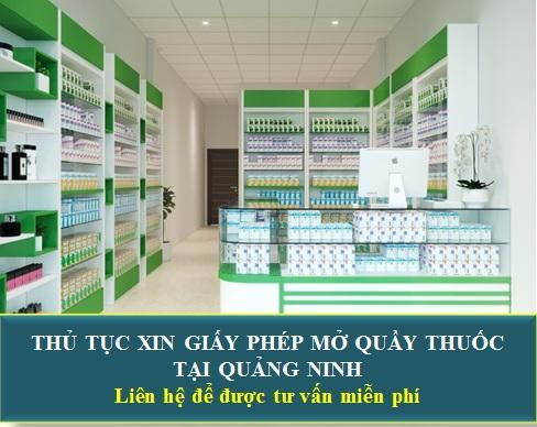 Thủ tục mở quầy thuốc tại Quảng Ninh