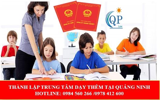 Dạy thêm tại Quảng Ninh có cần xin giấy phép