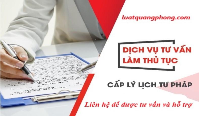 Dịch vụ xin lý lịch tư pháp tại Quảng Ninh