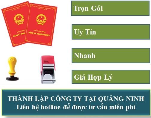 Thành lập công ty ở Quảng Ninh