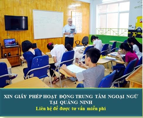 Thành lập trung tâm ngoại ngữ tại Quảng Ninh