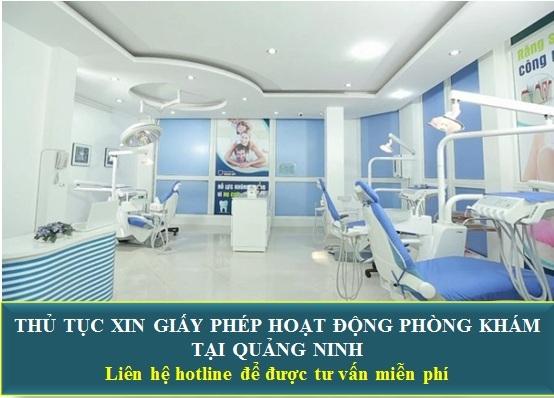 Thủ tục xin giấy phép hoạt động phòng khám tại Quảng Ninh