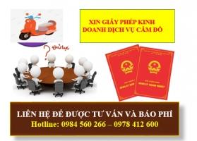 Xin Giấy Phép Kinh Doanh Dịch Vụ Cầm Đồ Tại Quảng Ninh