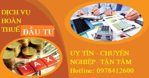Dịch vụ hoàn thuế đầu tư tại Quảng Ninh