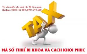 Doanh nghiệp cần làm gì khi bị đóng mã số thuế?