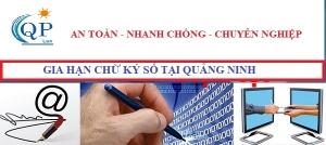Gia hạn chữ ký số tại Quảng Ninh
