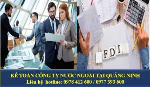 Kế toán công ty nước ngoài tại Quảng Ninh