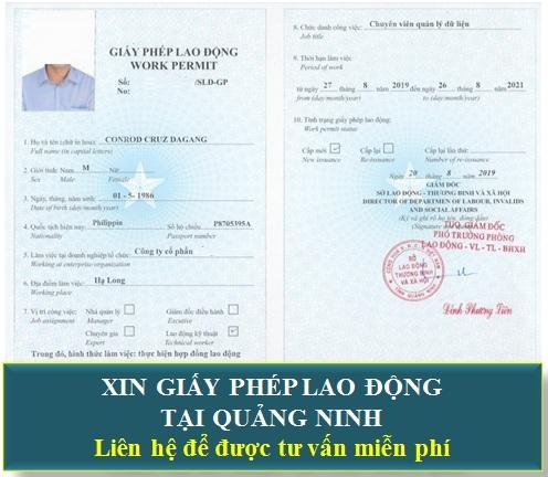 Xin giấy phép lao động cho người nước ngoài tại Quảng Ninh