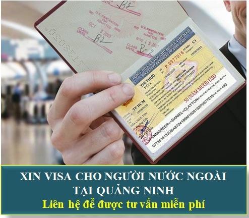 Xin Visa Cho Người Nước Ngoài Tại Quảng Ninh